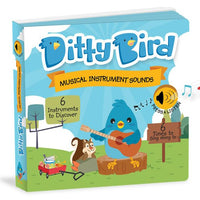 Ditty Bird Interactive Musical Book - Musical Instrument - Grace Baby