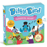 Ditty Bird Interactive Musical Book - Classical Music