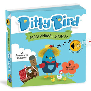 Ditty Bird Interactive Musical Book - Farm Animal