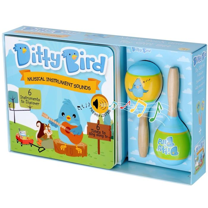 Ditty Bird Interactive Musical Book Gift Set - Musical Instrument