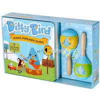 Ditty Bird Interactive Musical Book Gift Set - Musical Instrument - Grace Baby