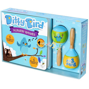 Ditty Bird Interactive Musical Book Gift Set - Nursery Rhymes