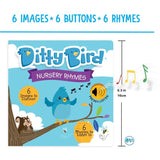 Ditty Bird Interactive Musical Book Gift Set - Nursery Rhymes - Grace Baby