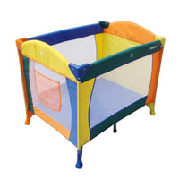 Aussie Baby Colours Playful Portable Cot