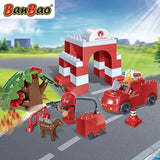 BanBao Young - Fire Fighter 9632 - Grace Baby