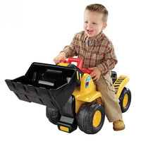 Kids Bulldozer Digger Ride-On Toy Truck