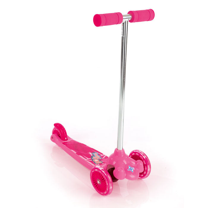 Eurotrike - Twist & Roll Tri Scooter - Pink