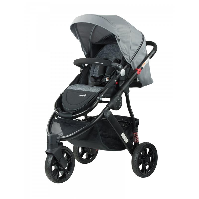 Safety 1st Wanderer X 3 Wheel Stroller - Dusk Grey Marle - Grace Baby