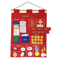 Merrigold Fabric Educational Date Chart - Today Is.... - Grace Baby