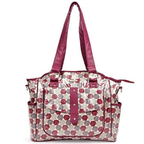 Bellotte Tote Nappy Bag - Autumn Rose