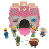 Wooden Mermaid Castle Play Set - Grace Baby
