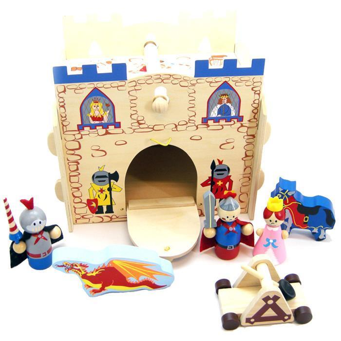 Wooden Knights Kingdom Playset - Grace Baby