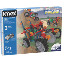 K'Nex Imagine - 4WD Demolition Truck Building Set