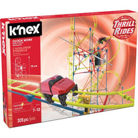 K'NEX Thrill Rides - Clock Work Roller Coaster Building Set