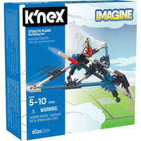 K'NEX Imagine - Stealth Plane Building Set
