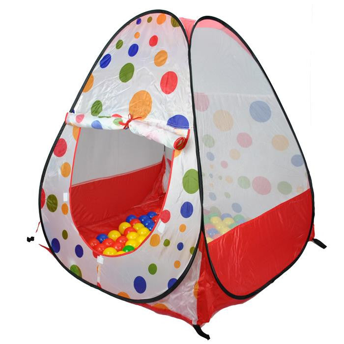 Magic Ball House Tent Shape with 100 Soft Balls - Grace Baby