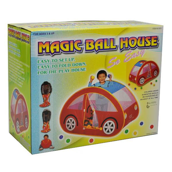 Car Shape Ball House - Grace Baby