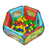 Magic Ball Pit with 100 Soft Balls - Grace Baby