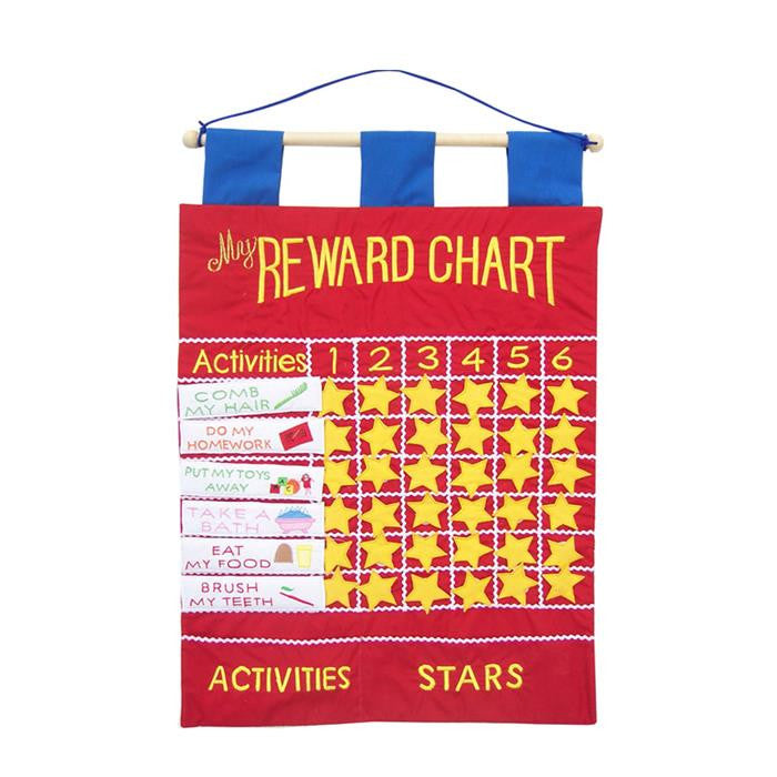 Merrigold Fabric Wall Chart - My Reward Chart - Grace Baby