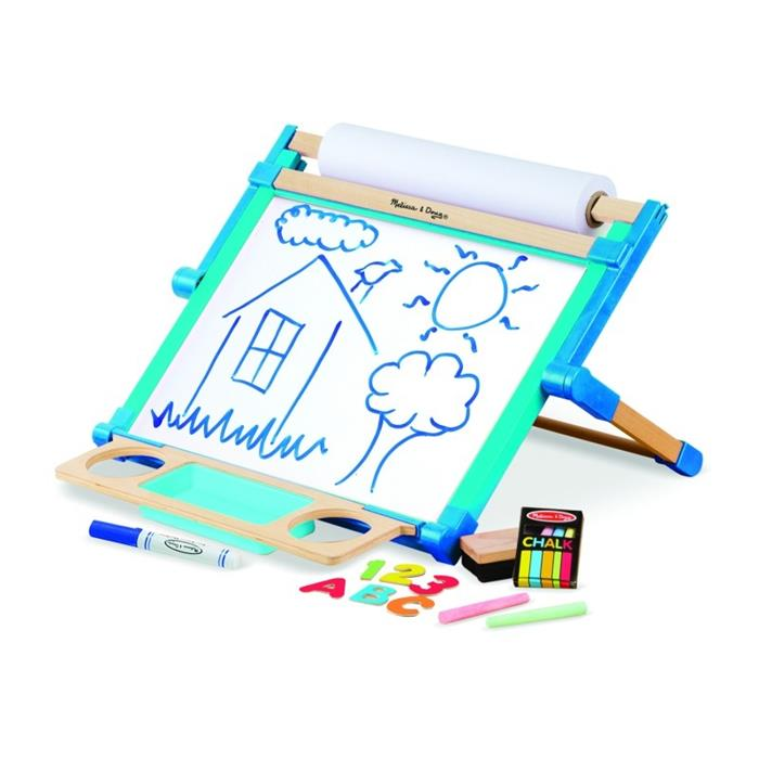 Melissa & Doug Magnetic Tabletop Easel - Grace Baby