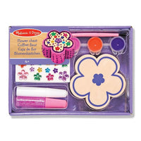 Melissa & Doug - Decorate-Your-Own - Wooden Flower Chest