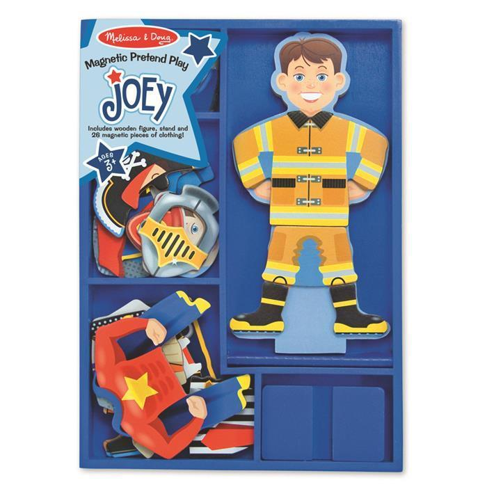 Melissa & Doug Magnetic Dress-Up - Joey - Grace Baby