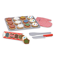 Melissa & Doug - Slice And Bake Cookie Set - Grace Baby