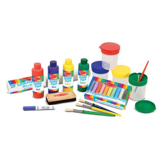 Melissa & Doug - Easel Accessory Set - Grace Baby