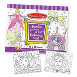 Melissa & Doug - Jumbo Colouring Pad - Princess & Fairy - Grace Baby