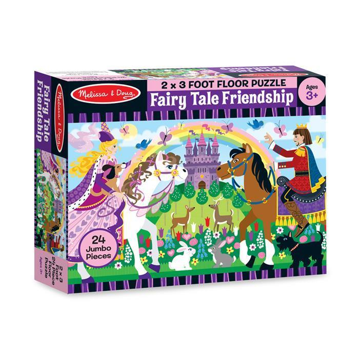 Melissa & Doug - Fairy Tale Friendship Floor Puzzle - 24pc - Grace Baby