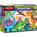 Melissa & Doug - Dinosaur Dawn Floor Puzzle - 24pc - Grace Baby