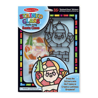 Melissa & Doug Stained Glass Made Easy - Santa Claus - Grace Baby