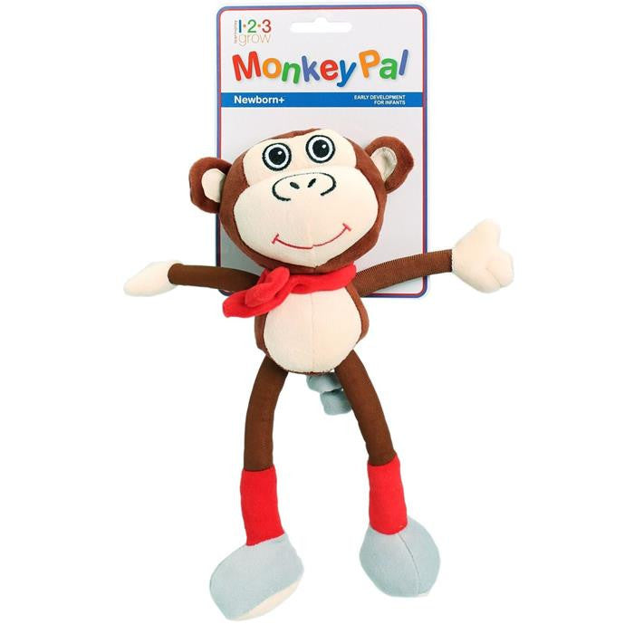 123 Grow Monkey Pal - Brown - Grace Baby