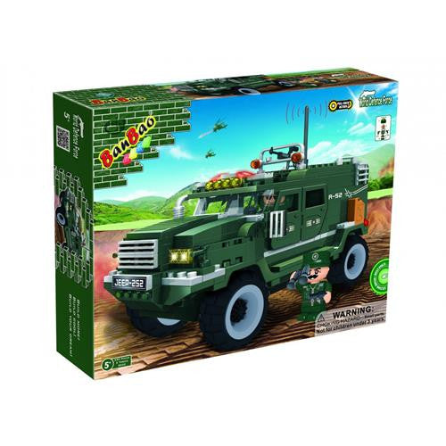 BanBao Defence Force - Military Vehicle 8252