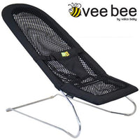 Vee Bee Serenity Mesh Bouncer - Black
