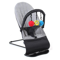 Vee Bee Baby Minder Bouncer - Flex Grey - Grace Baby