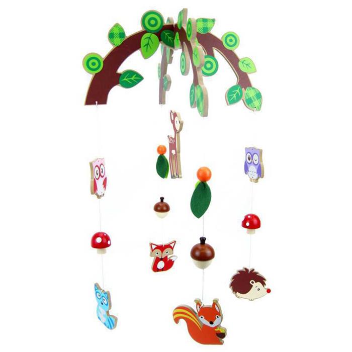 Kaper Kidz - Forrest Friend Mobile - Grace Baby