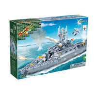 BanBao 8415 Navy Destroyer Boat Battleship - Grace Baby