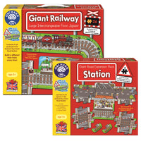 Orchard Toys - Giant Railway and Station