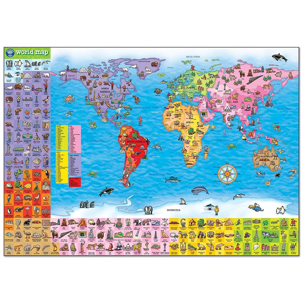 Orchard Jigsaw - World Map Puzzle & Poster 150pc on persecuted church world map, remnant world map, pillars world map, birthright world map, zen world map, thera world map, christian persecution world map, evil world map, divinity world map, golden horn world map, sanctuary world map, sarai world map, alo world map, sunni world map, opal world map, zara world map, imagination world map, elmina world map, solomon world map, galilee world map,