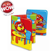 PlayWow Baby Soft Toy Education Learning Book 6m+