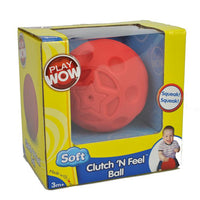 PlayWow Infant Baby Soft Play Clutch 'n Feel 9cm Ball