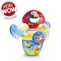 PlayWow Baby Infant Soft Play Toy Jingle Whirl N Twirl