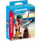 Playmobil Special Plus Figurines - Pirate with Cannon 5378 - Grace Baby
