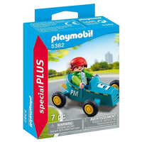 Playmobil Special Plus Figurines - Boy with Go-Kart 5382 - Grace Baby