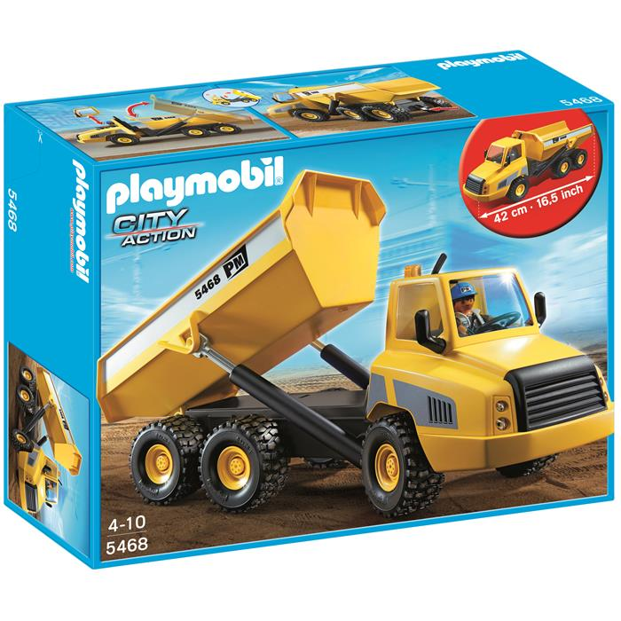 Playmobil City - Industrial Dump Truck - 5468 - Grace Baby