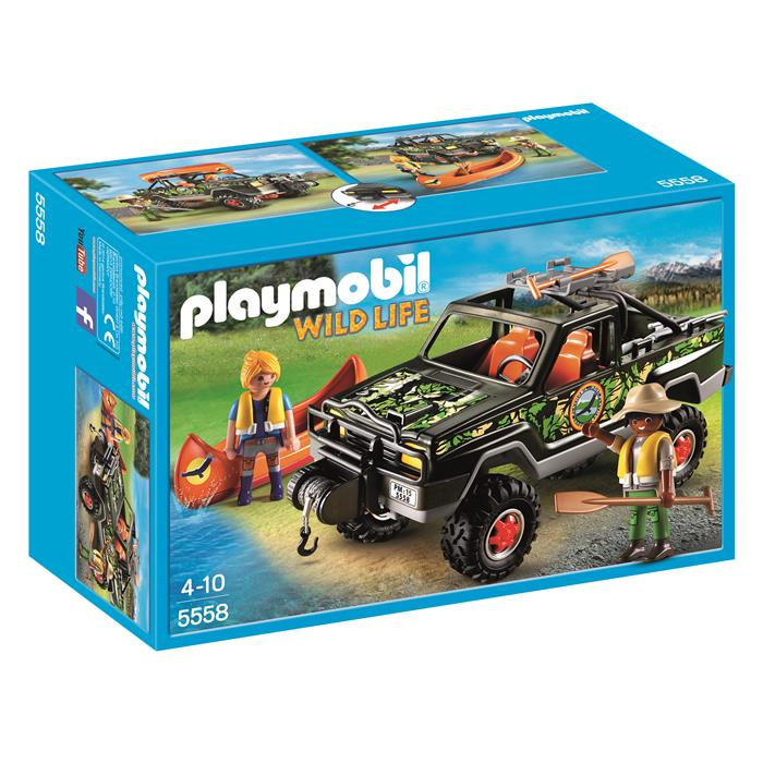 Playmobil Wild Life - Adventure Pickup Truck - 5558 - Grace Baby