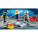 Playmobil Fire Brigade - Fire Rescue Carry Case 5651 - Grace Baby