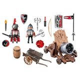 Playmobil - Hawk Knights Battle Cannon 6038 - Grace Baby