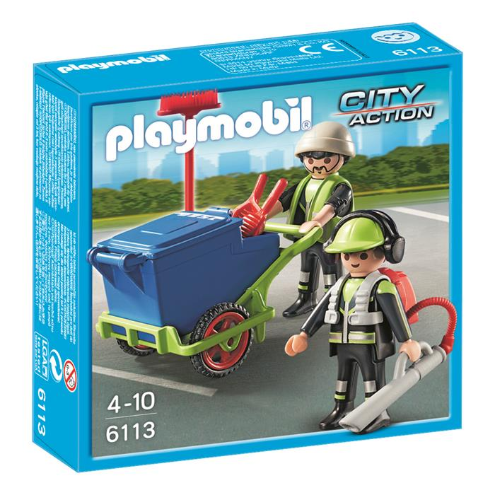 Playmobil City - Sanitation Team - 6113 - Grace Baby
